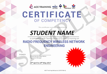 ace training certificate of competency